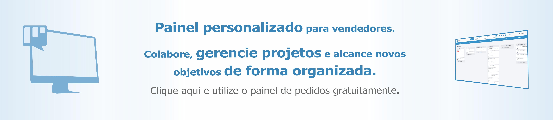 painel de pedidos gratis gratuito produtos personalizados brindes personalizadas