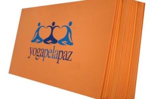 Tapete de Yoga personalizado b24a20151488